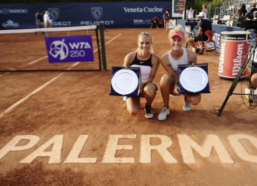 Erin Routliffe Palermo WTA title