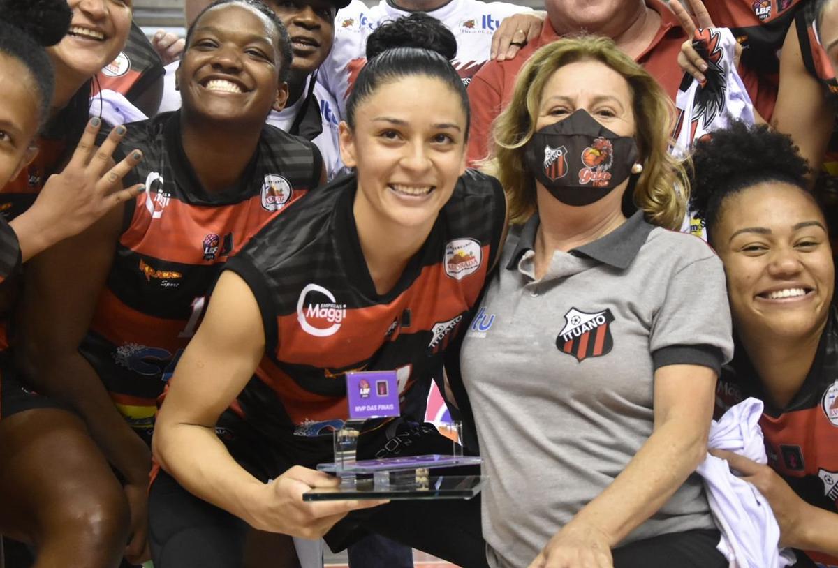 Alana Goncalo Da Silva LBF championship finals MVP