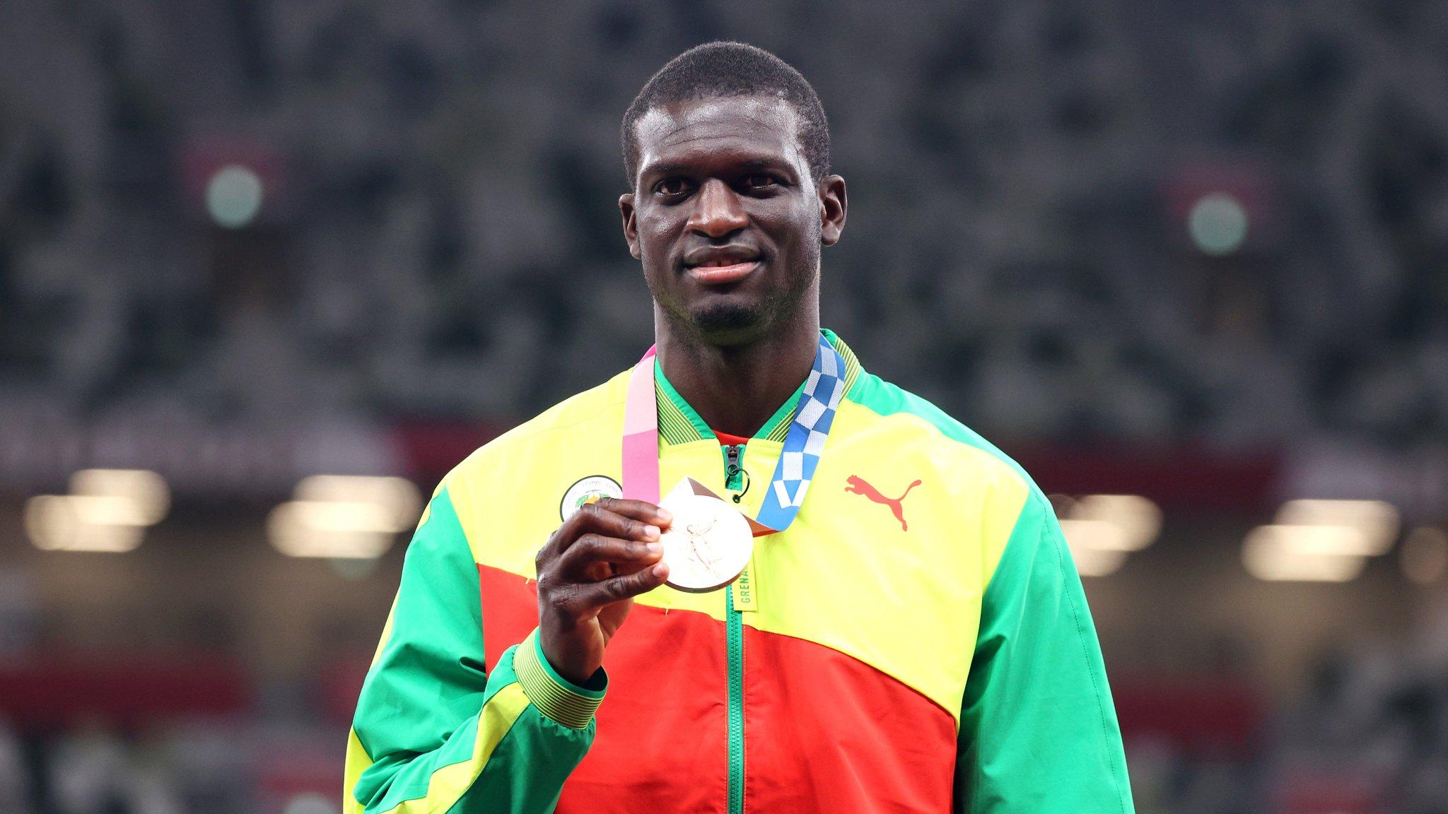 Kirani James bronze medal